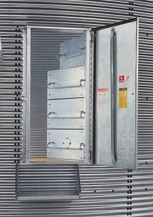 Brock Frame Weldments For Grain Bin Doors