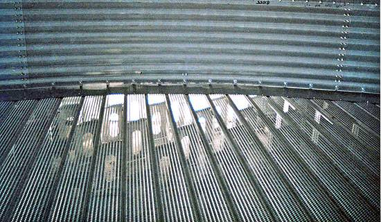 24 Ripco Distribution 18ga Perforated Channel Lock Floor
