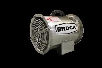 "Brock - 12"" Brock Axial Fan - .75 HP 3 PH 575V"