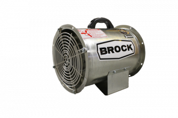 "Brock - 18"" Brock Axial Fan - 3 HP 3 PH 575V"