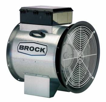 "Brock - 24"" Brock Axial Fan with Control - 10 HP 1 PH 230V"