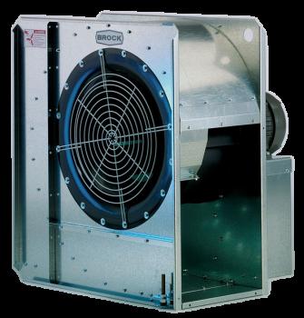 "Brock - 15"" Brock High-Speed Centrifugal Fan - 5 HP 1 PH 230V"