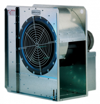 "Brock - 18"" Brock High-Speed Centrifugal Fan - 15 HP 3 PH 230V"