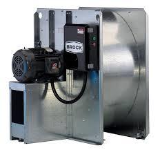 "Brock - 22"" Brock Centrifugal Fan with Control - 5 HP 3 PH 230V"