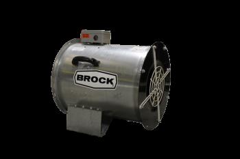 """Brock - 24"""" Brock In-Line Centrifugal Fan - 5 HP 1 PH 230V"""