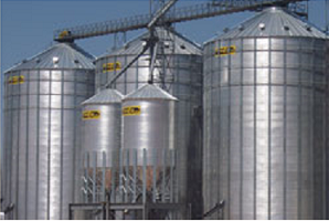MFS - 105' MFS Commercial Flat Bottom Bins