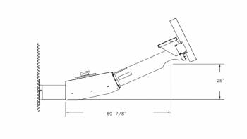 "Hutchinson - 8"" to 10"" Hutchinson 2HP Heavy Duty 3-Belt 25° Bin Unloader"