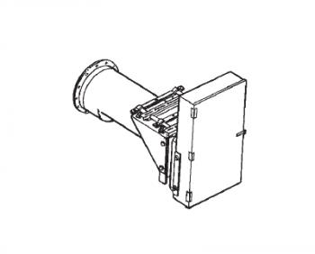 "Hutchinson - 10"" Hutchinson 25HP Horizontal Reducer Chain & Gear Drive - 4-Belt"