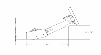 """Hutchinson - 10"""" to 12"""" Hutchinson Heavy Duty 25° Bin Unloader - 4-Belt"""