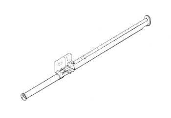 "Hutchinson - 8"" Hutchinson 5HP Lowboy Unloading Auger - 2-Belt"