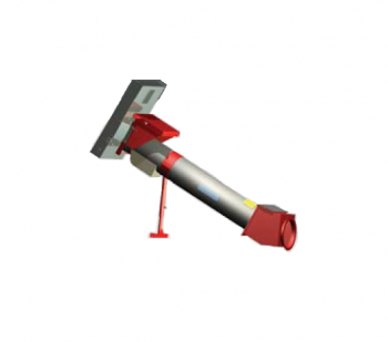 """Hutchinson - Hutchinson 8"""" Tube to 10"""" Incline 25° Unloading Kit with Hydraulic Drive"""