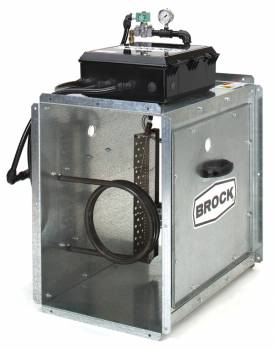 Brock - Brock Downstream Centrifugal Heater Natural Gas & Propane Vapor - On/Off for Fan Model LC27-20