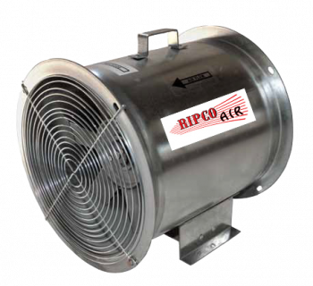 "RIPCO Distribution - 12"" RIPCO Air Axial Fan - 3/4 HP 3PH 230/460V"
