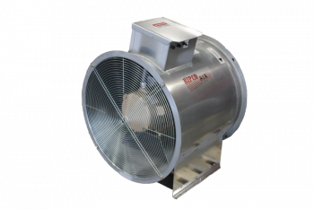 "RIPCO Distribution - 24"" RIPCO Air Axial Fan with Control - 5 HP 1 PH 230V"