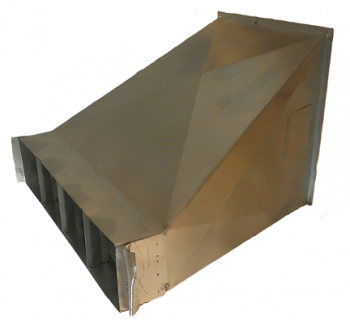 RIPCO Distribution - RIPCO Distribution U-1272 Universal Transition/Bin Collar
