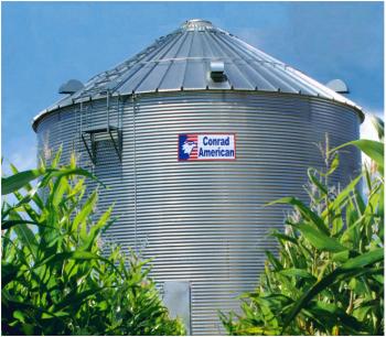 Conrad American - 39' Conrad American Farm Grain Bins