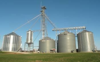 Brock - 33' Brock Farm Grain Bins