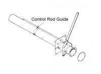 "8"" Hutchinson Standard Bin Unload Equipment - 8"" Hutchinson Bin Wells & Accessories - Hutchinson - 8"" Hutchinson Control Rod Guide for Bin Flange"