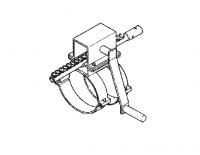 "8"" Hutchinson Standard Bin Unload Equipment - 8"" Hutchinson Bin Wells & Accessories - Hutchinson - 8"" Hutchinson Control Rod Rack & Pinion Assembly"