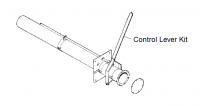 "10"" Hutchinson Standard Bin Unload Equipment - 10"" Hutchinson Bin Wells & Accessories - Hutchinson - 10"" Hutchinson Control Lever Kit for Bin Flange"