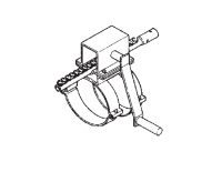 "10"" Hutchinson Standard Bin Unload Equipment - 10"" Hutchinson Bin Wells & Accessories - Hutchinson - 10"" Hutchinson Control Rod Rack & Pinion Assembly"