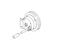 Hutchinson Reduction End Wheel for 68 Series 4-1 Ratio