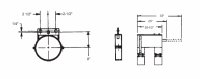 """14"""" Hutchinson Commercial Control Rod Guide"""