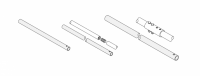 """Hutchinson Commercial Unload System Parts - Hutchinson Commercial Control Pipe Kits for 8"""", 12"""", or 14"""" - Hutchinson - Hutchinson Commercial Control Pipe Kit for 92' Bin"""