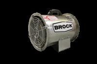 "Fans Less Controls - 12"" Diameter Vane Axial Fans Less Controls - Brock - 12"" Brock Axial Fan - 1 HP 1 PH 115V"