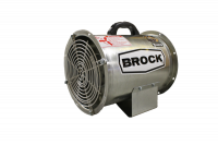 "Fans Less Controls - 12"" Diameter Vane Axial Fans Less Controls - Brock - 12"" Brock Axial Fan - 1 HP 3 PH 230/460V"