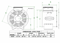 """Brock - 26"""" Brock Axial Fan with Control - 12 HP 1 PH 230V - Image 2"""