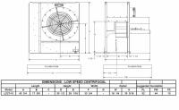 "Brock - 27"" Brock Centrifugal Fan - 10 HP 1 PH 230V - Image 2"