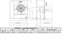 "Brock - 27"" Brock Centrifugal Fan - 15 HP 1 PH 230V - Image 2"