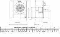"Brock - 27"" Brock Centrifugal Fan - 20 HP 3 PH 230V - Image 2"