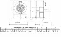 "Brock - 33"" Brock Centrifugal Fan - 50 HP 3 PH 575V - Image 2"