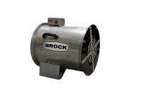 "Fans Less Controls - 24"" Diameter Centrifugal In-Line Fans Less Controls - Brock - 24"" Brock In-Line Centrifugal Fan - 5 HP 1 PH 230V"