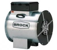 "Fans With Controls - Brock 24"" In-Line Centrifugal Fans With Controls - Brock - 24"" Brock In-Line Centrifugal Fan with Control - 3 HP 1 PH 230V"