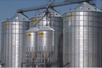 Shop by Capacity - Commercial Bins 300,000 - 400,000 Bushels - MFS - 105' MFS Commercial Flat Bottom Bins