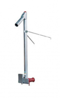 "Hutchinson Commercial Power Heads - 10"" Hutchinson Commercial Power Heads - Hutchinson - 10"" Hutchinson 10HP Commercial Double Drive Vertical Auger for 8"" Horizontal"