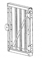 Greene Access Parts - Greene Sidewall Stairs - Greene - Greene Sidewall Stair Gate
