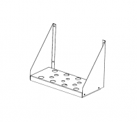 "Greene Access Parts - Greene Sidewall Stairs - Greene - 9"" x 20"" Greene Door Step"