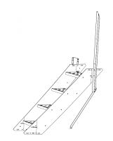 "Greene Access Parts - Greene Sidewall Stairs - Greene - 42"" Greene Stair Section"