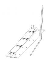 """Greene Galvanized Stairs - Greene Sidewall Stairs - Greene - 44"""" Greene Stair Section"""
