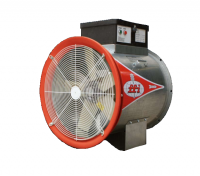 "Fans With Controls - 24"" Diameter Vane Axial Fans With Controls - Farm Fans, Inc. - 24"" Farm Fans Axial Fan with Control - 7.5 HP 3 PH 460V"