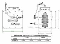 Brock - Brock Downstream Centrifugal Heater Liquid Propane - Hi-Lo for Fan Model LC27-20 - Image 2