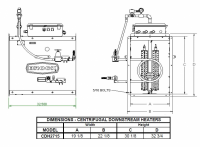 Brock - Brock Downstream Centrifugal Heater Liquid Propane - On/Off for Fan Model LC27-15 - Image 2