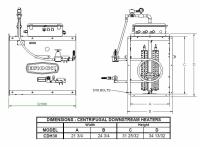 Brock - Brock Downstream Centrifugal Heater Liquid Propane - On/Off for Fan Model LC30-25/30 - Image 2