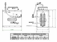 Brock - Brock Downstream Centrifugal Heater Natural Gas & Propane Vapor - Hi-Lo for Fan Model LC27-10 - Image 2