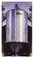 Shop by Capacity - Commercial Hopper Tanks < 10,000 Bushels - MFS - 15' MFS Commercial Hopper Tank