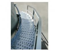 Brock Access Parts - Brock Shur-Step Bin Stairs - Brock - Brock Shur-Step Bin Stairs for 15' - 27' Bins